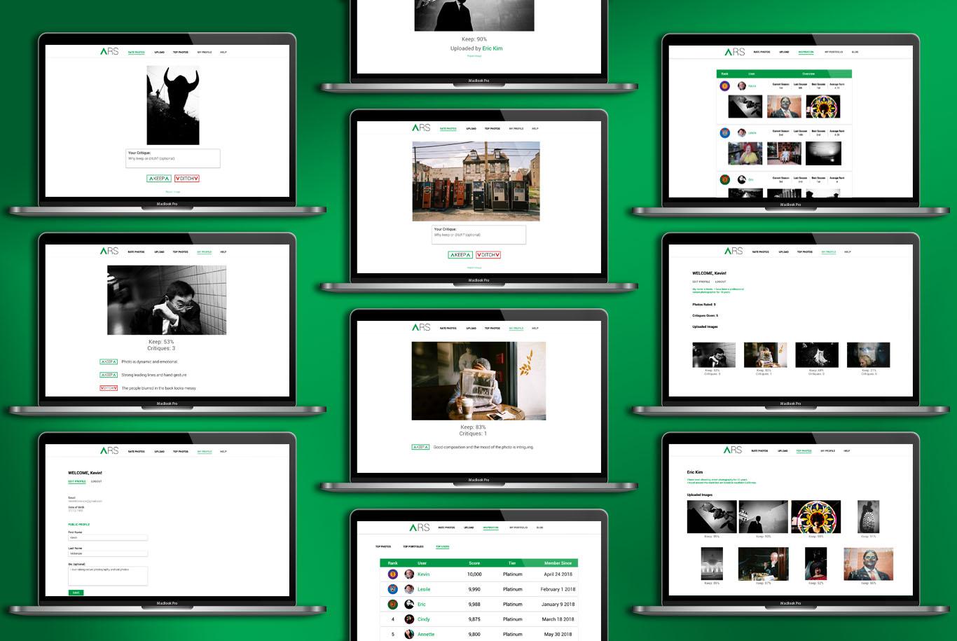 ARS Screenshot Graphic