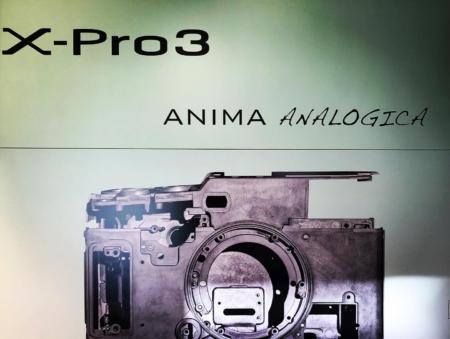 Fujifilm X-Pro 3, anima analogica
